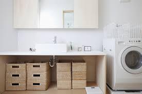Wicker Bathroom Storage by Bathroom Storage Baskets Interior Design Ideas