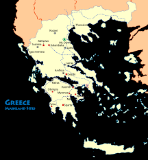 Sparta On Map Map Of Nafplion Greece Mapping Europe