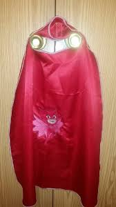 pj mask cape owlette red perfect costumes birthdaysand