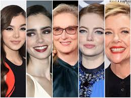 our nominees best performance by an actress in a motion picture