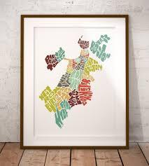 Massachusetts City Map by