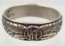 german wedding ring german wedding ring marked h himmler size 14