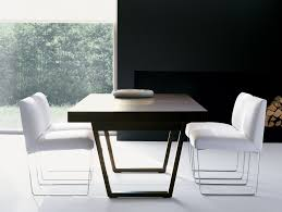 Modern Luxury Dining Table Nella Vetrina Dona Gueta Modern Italian Designer Ebony Dining Table