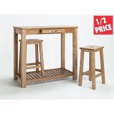 breakfast bar table set oak breakfast bar nesting stools pertaining to brilliant property