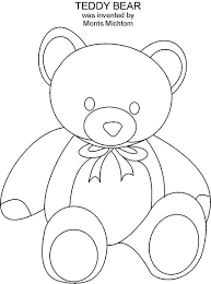 coloring teddy bear pages on teddy bear coloring pages with hd