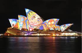 Beautiful Lighting Beautiful Lighting Decoration Of Sydney Opera House