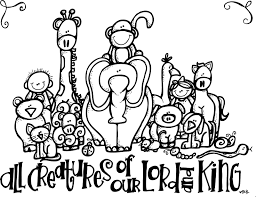tithing coloring page melonheadz lds illustrating all creatures