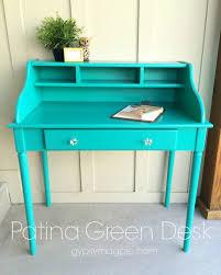patina green desk gypsy magpiegypsy magpie