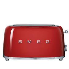 sur la table toaster smeg 4 slice retro style toaster sur la table