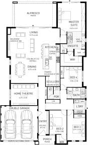 verona home design well zoned deluxe family home plunkett homes