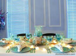 the sea decorations the sea table decorations home table settings sea