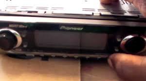 pioneer deh p6400 repair youtube