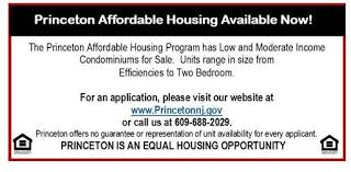 affordable housing princeton new jersey