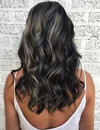 silver brown hair 30 best highlight ideas for dark brown hair