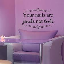 wall ideas nail salon wall decor salon wall decor vintage