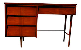 ward mid century modern writing desk by ward furniture chairish