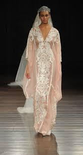 Bridal Fashion Week Wedding Dress by Naeem Khan Shows Elegant Embroidered Dresses For Spring 2017