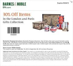 Barnes Noble Online Coupon Barnes And Noble Coupon Receive A 30 Discount On Items In The