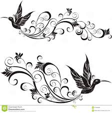 hummingbird vector illustration royalty free stock images image