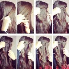 Frisuren Lange Haare Selber Machen Flechten by Einfache Frisuren Ohne Flechten Frisuren Mittellang