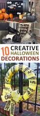 10 creative halloween decorations