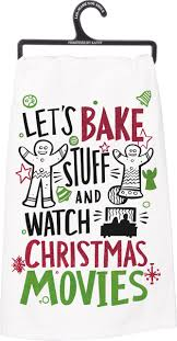 primitives by kathy christmas movies christmas kitchen towel