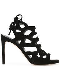 Stuart Weitzman Comfort Stuart Weitzman Ankle Length Sandals Black Women Shoes Amazing