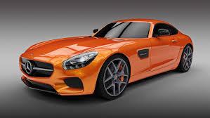 mercedes amg orange superior sports car trader 1 2015 mercedes amg gt 3d