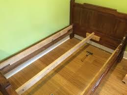 Ikea Bed Ikea Hack Custom Size Slatted Bed Base Project Du Jour