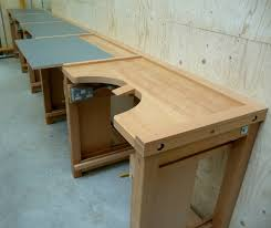 jewellers bench designed with a removable square top diy