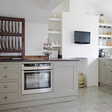 kitchen old fashion black wooden kitchen wall cabinets with brick