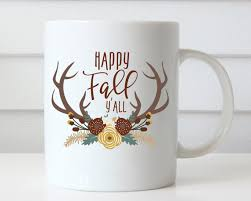 thanksgiving mug happy fall yall mug fall coffee mug fall mug thanksgiving