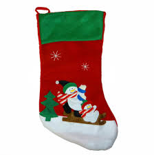 assorted decorative christmas stockings measures 16