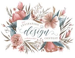 invitation designs wedding invitation designs 2017 contest gallery