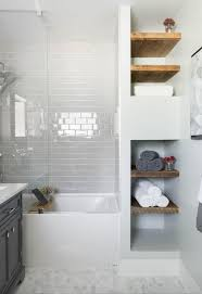 shelves in bathrooms ideas 25 best built in bathroom shelf and storage ideas for 2018