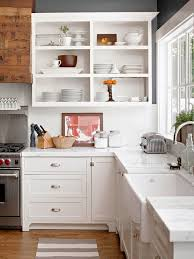 open cabinets in kitchen 5 reasons to choose open shelves in the kitchen jenna burger