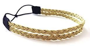 gold headband gold braid strand headwrap buy 1 get 1 free