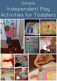 simple independent play activities for toddlers activities