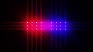 animated cop lights stock footage 3934919
