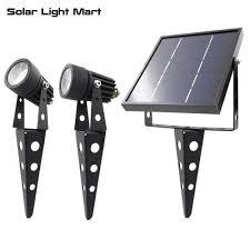 solar light mart mini 50x updated all metal solar powered led outdoor