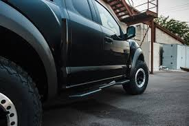 ford raptor side view buy ford f 150 super duty supercab stealth side steps