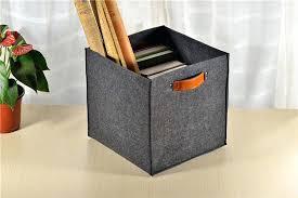 Black Leather Storage Ottoman Faux Leather Storage Cube Ottoman In Black Leather Storage Cubes