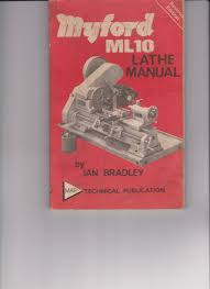 myford ml10 lathe manual amazon co uk ian bradley 9780853440284