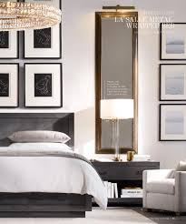 rh source books bed pinterest long mirror nightstands and