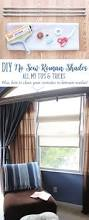 No Sew Roman Shades How To Make - diy no sew roman shades my tips and tricks for a clean project
