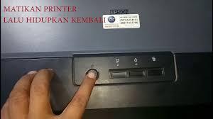 reset printer l210 manual cara reset printer epson l1300 youtube
