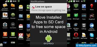 android install apps to sd card how to move or install apps directly to sd card in android