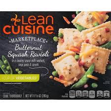 comment cuisiner les butternuts lean cuisine marketplace butternut squash ravioli 9 875 oz