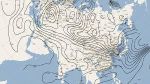 Isoline Map Meteoexplorer Touch Eastmodelsoft Software