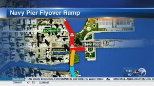 Chicago Trolley Map by What U0027s Driving You Crazy Navy Pier Flyover Ramp Abc7chicago Com